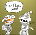 I want a mummy - total-drama-island fan art