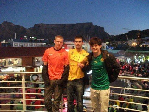 Jack in South Africa - World Cup