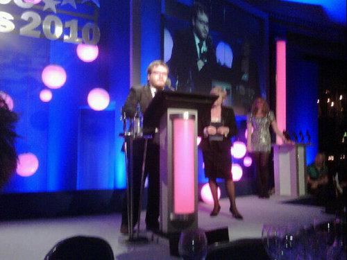 Jamie B @ the tv choice awards