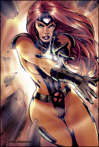 Jean Grey ( Phoenix ) - funkyrach01 Fan Art