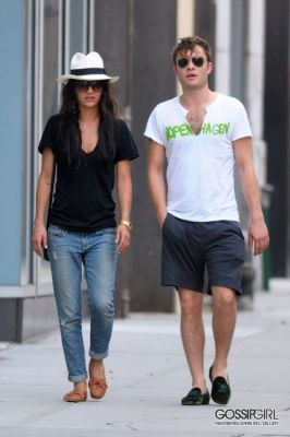 Jessica and Ed out walking - September 2
