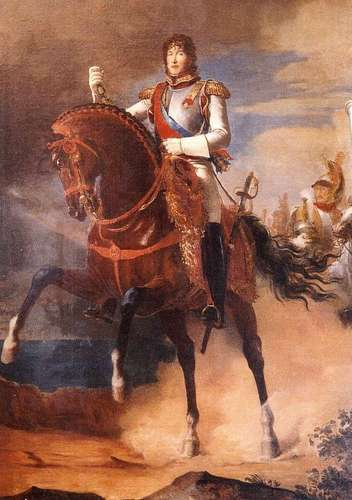 Kings and Queens wallpaper with a horse wrangler called Joachim I, King of Naples