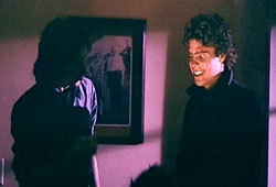 Michael Myers wolpeyper titled John Carpenter and Tony Moran ( Michael 21) behind scenes