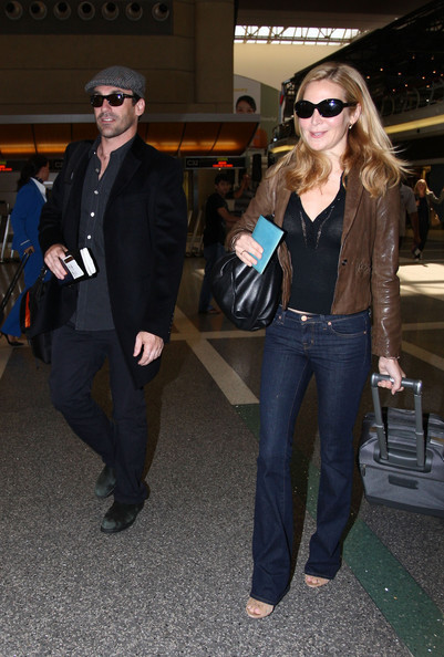 Jon Hamm at Los Angleles Airport