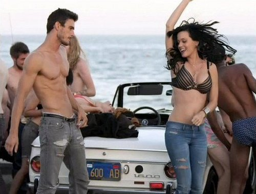 Josh Kloss in Katy Perry's Teenage Dream