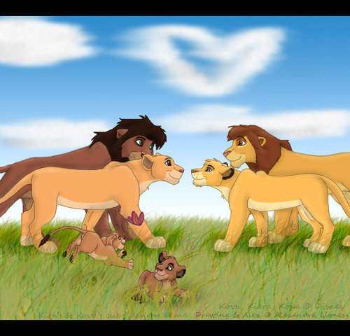 Kovu&Kiara and Kopa&Vitani
