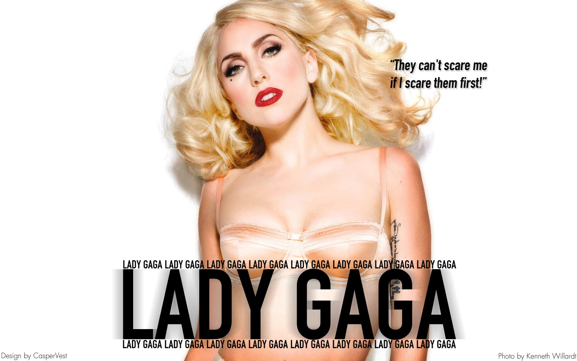 Lady Gaga Lady Gaga - Scare Them Wallpaper