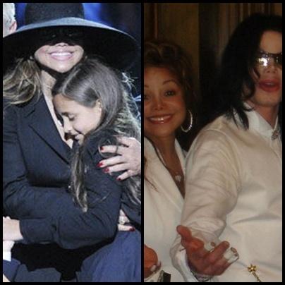 Latoya , Michael and Paris .. so cute