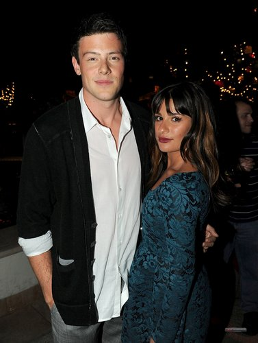 Lea and Cory @ Primiere Party of Season 2