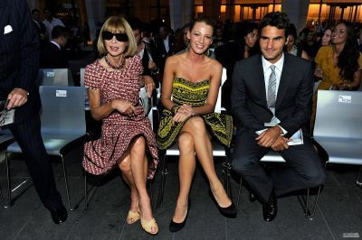Leighton and Blake at Fashion's Night Out - The Zeigen September 7
