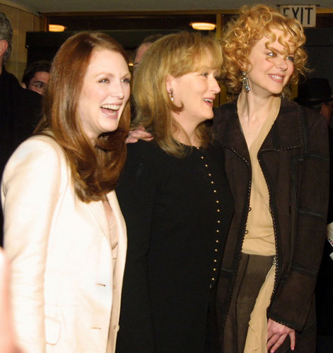 Los Angeles Premiere of The Hours - Meryl, Julianne and Nicole