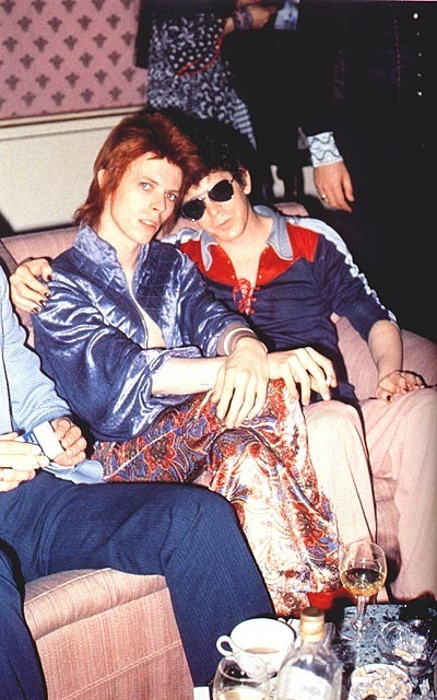 Lou Reed and David Bowie - Lou Reed Photo (15333740) - Fanpop