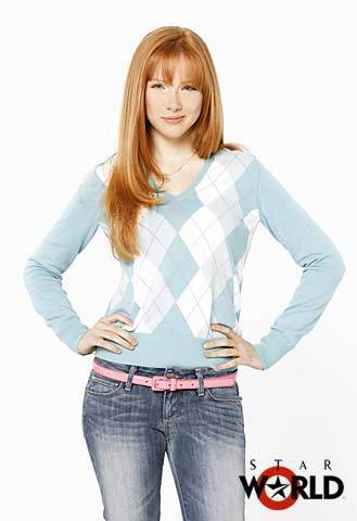 molly quinn achtergrond possibly with bellbottom trousers, long trousers, and flannel titled MOLLY
