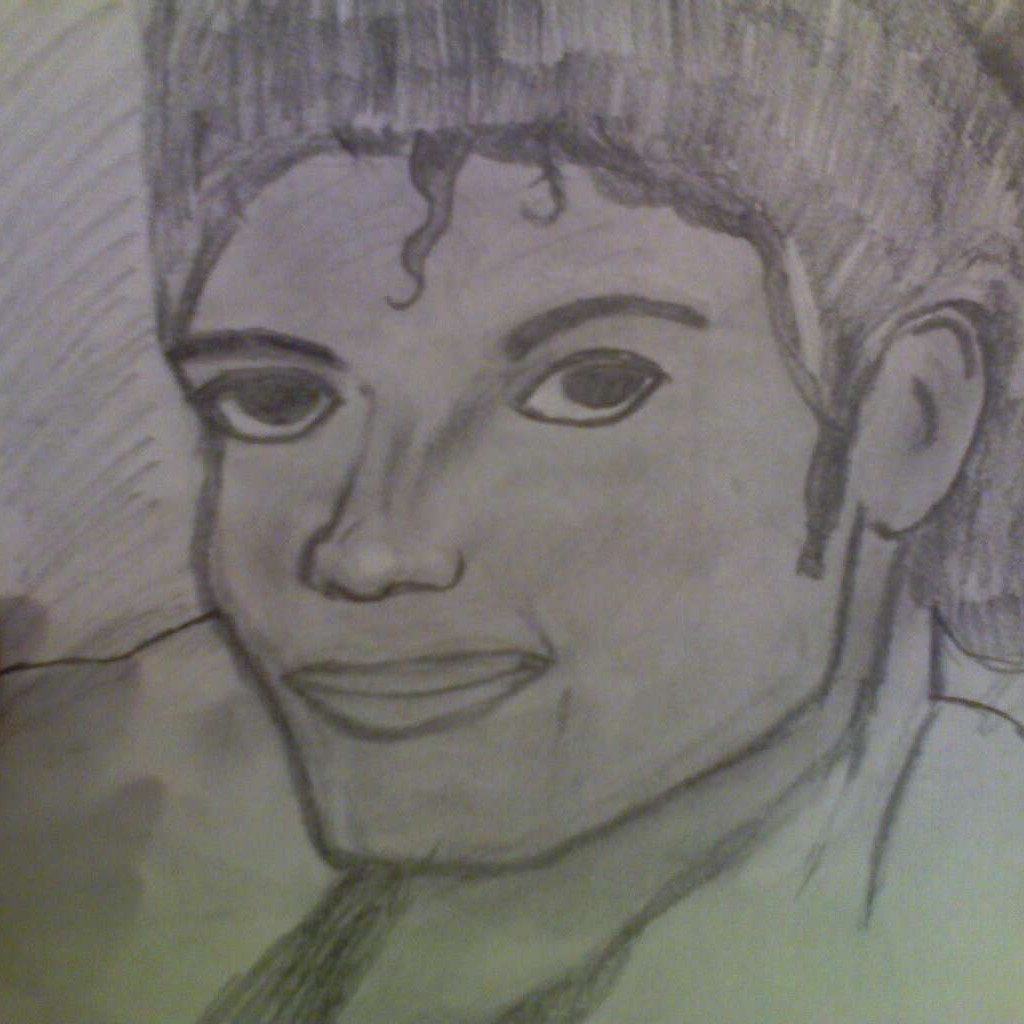 MY THRILLER DRAWING