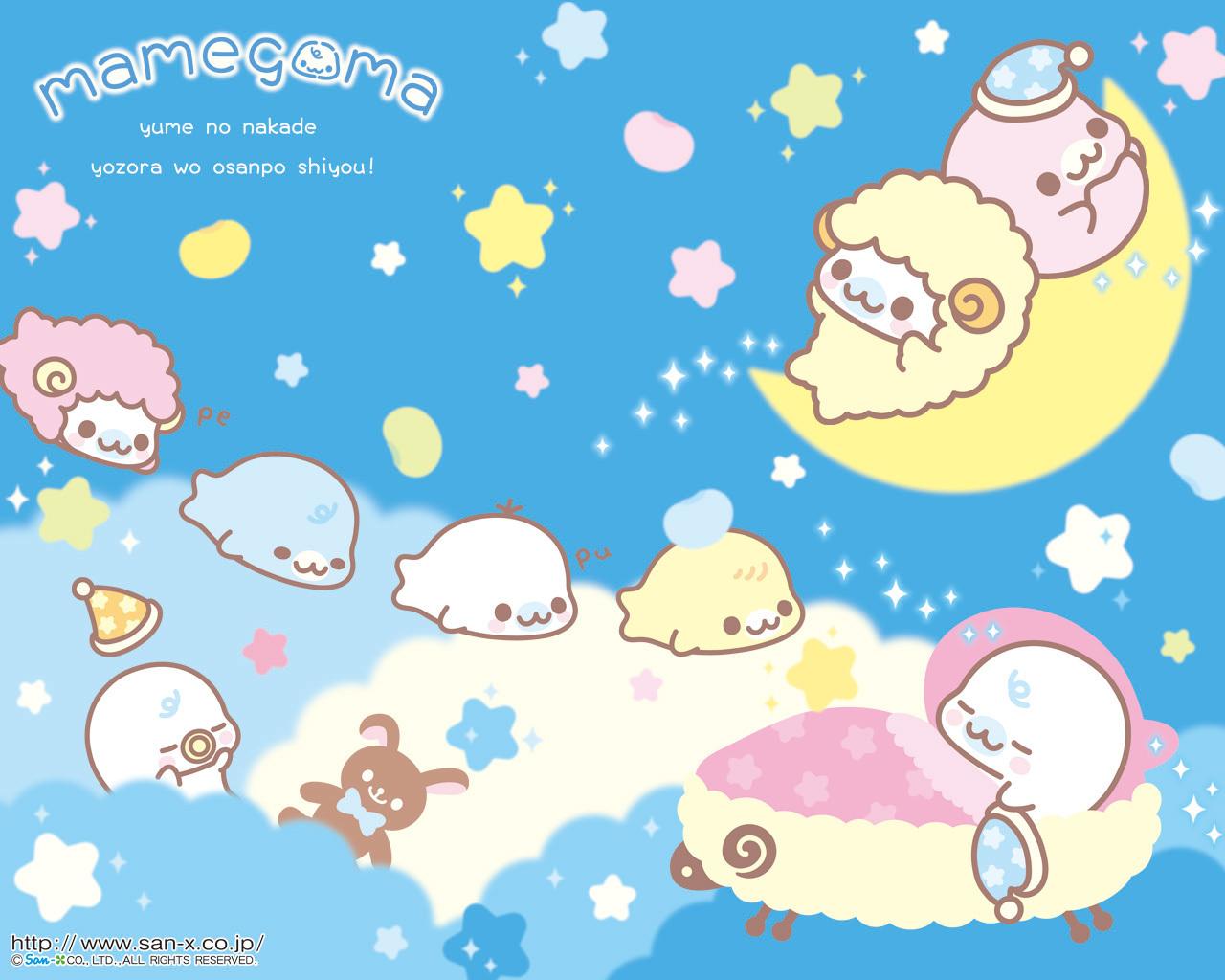Mamegoma-Baby-Bedtime-Wallpaper-mamegoma