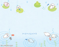 Mamegoma Lilly Pad Wallpaper  - mamegoma wallpaper