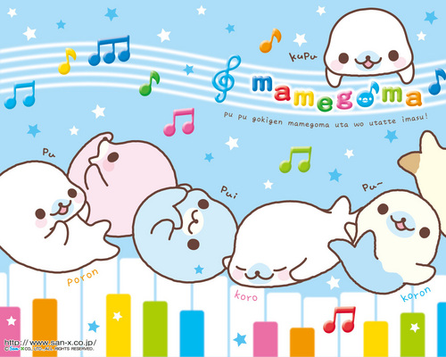 Mamegoma Music Wallpaper