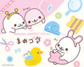 Mamegoma Sewing Wallpaper - mamegoma wallpaper