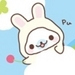 Mamegoma White Bunny Icon - mamegoma icon