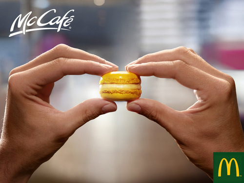 McCafé: Small burger - mcdonalds Photo