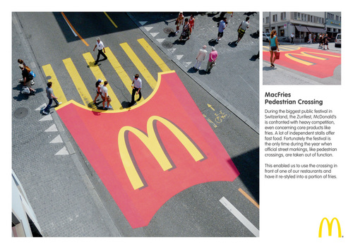 McDonald's wallpaper entitled McDonald's: MacFries Pedestrian Walking