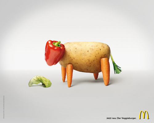 McDonald's: Veggieburger - mcdonalds Photo