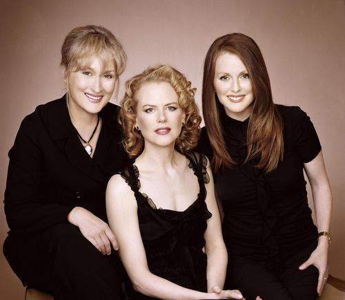 Meryl, Nicole and Julianne - The Hours Promo Shoot