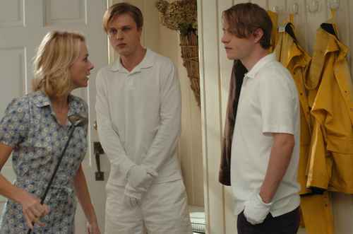 Michael Pitt, Brady Corbet & Naomi Watts in Funny Games US (2007)