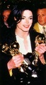 Mj acting cool about his prizes :) - michael-jackson photo