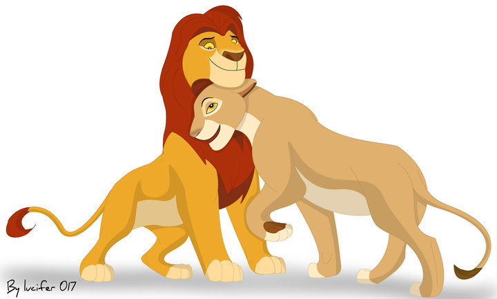 Mufasa&Sarabi