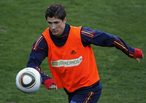 Nando - Spain Training