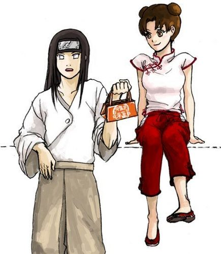 Neji and Tenten's first 日付