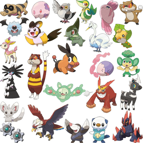 Pokémon wolpeyper titled New pokemon background