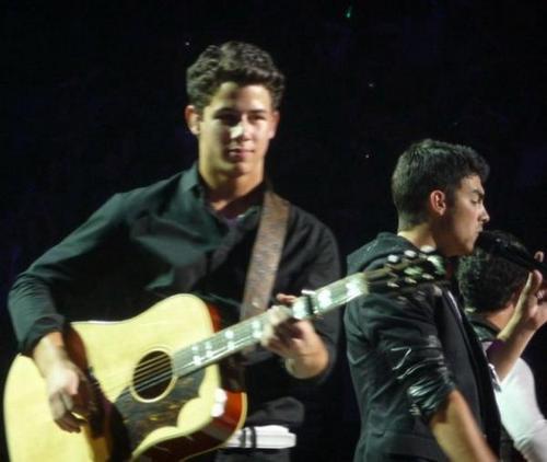 Nick with new haircut 2010