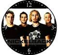 Nickelback Clock  - nickelback fan art