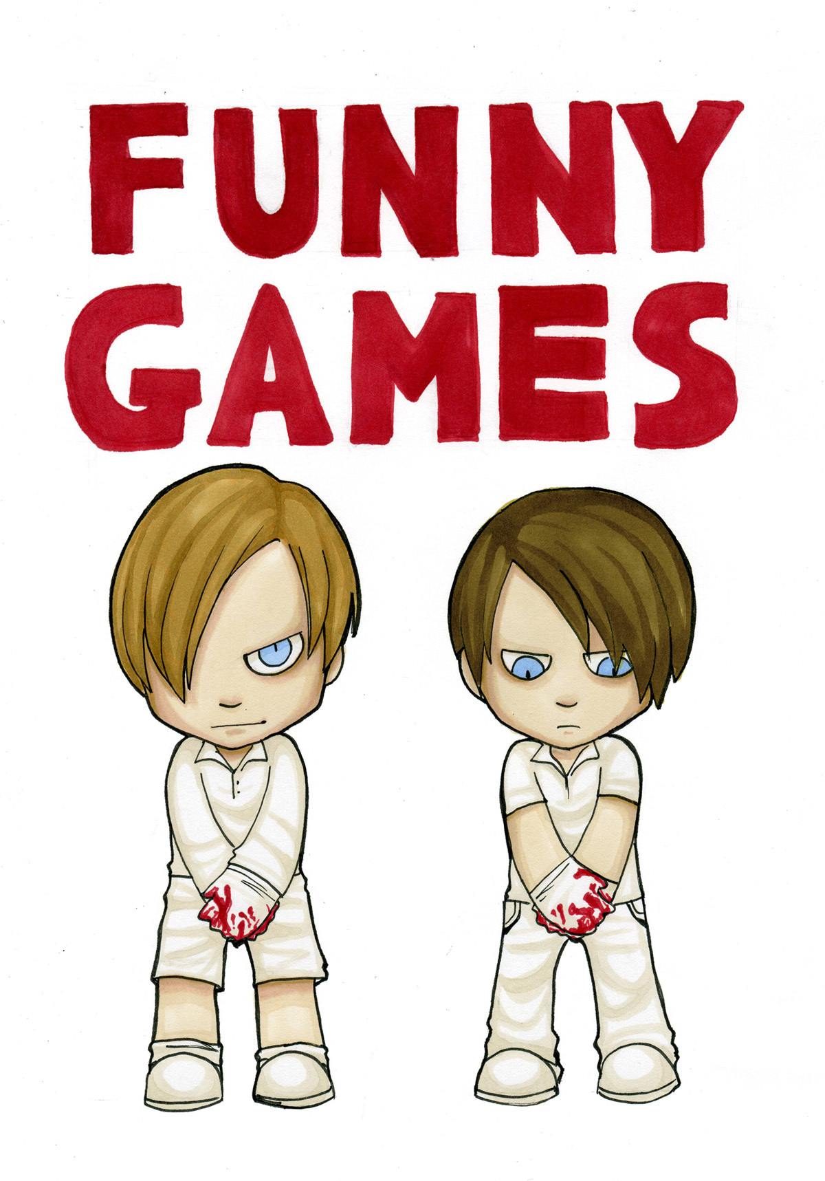 Funny Games images Paul & Peter Fan Art HD wallpaper and background ...