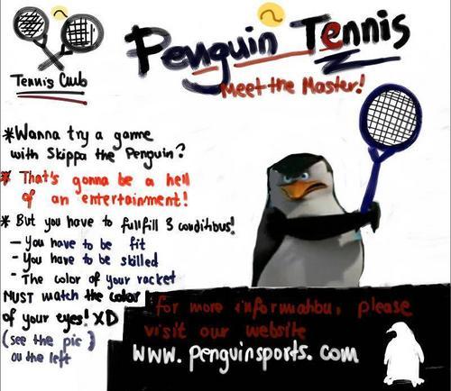 penguin, auk Tennis