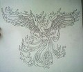Phoenix - drawing photo
