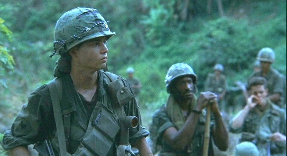 platoon a film on the vietnam Perhaps the most critical audience for platoon, oliver stone's oscar-winning movie about the vietnam war, are the men he served with from 1967-68 stone was actually in several platoons, and .