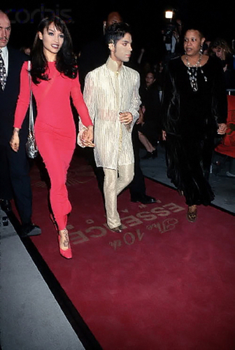 Prince and Mayte - prince Photo