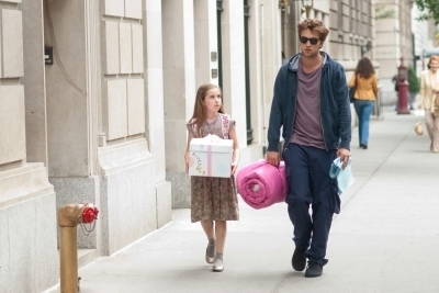 Renesmee and Daddy buying birthday presnts for Momma