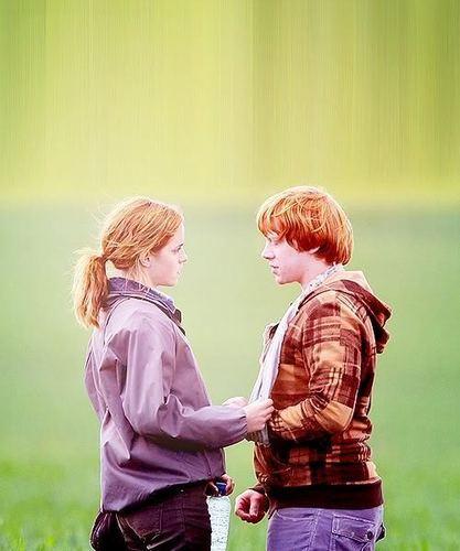 Ромиона (Рон и Гермиона) - Harry Potter & The Deathly Hallows