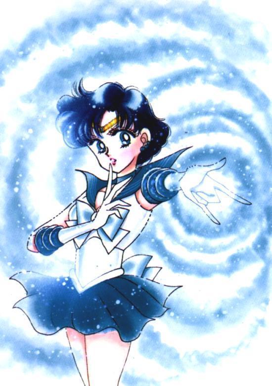 Sailor Mercury Attack