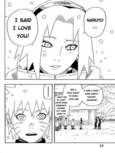 Sakura naruto mangá Excerpt