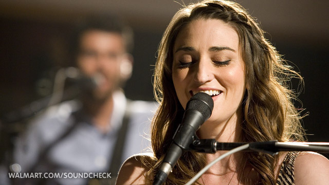 Sara Bareilles on Walmart Soundcheck