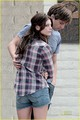 Sebastian Stan and ashley Greene ~ The Apparition Set (old pictures)