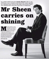 Sheen on Sunday Express - twilight-series photo