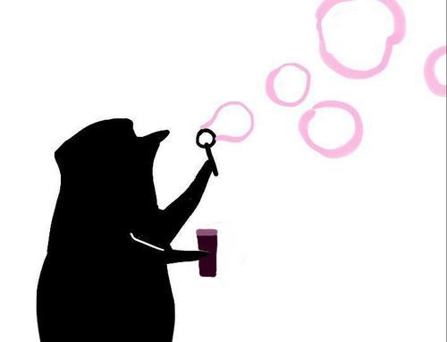 Skippa making Bubbles:)