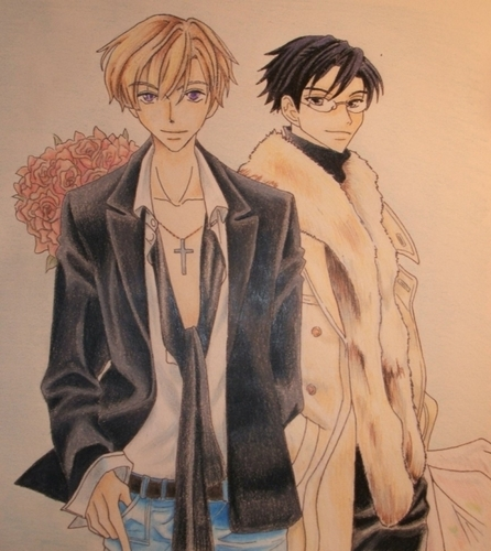Tamaki and Kyoya