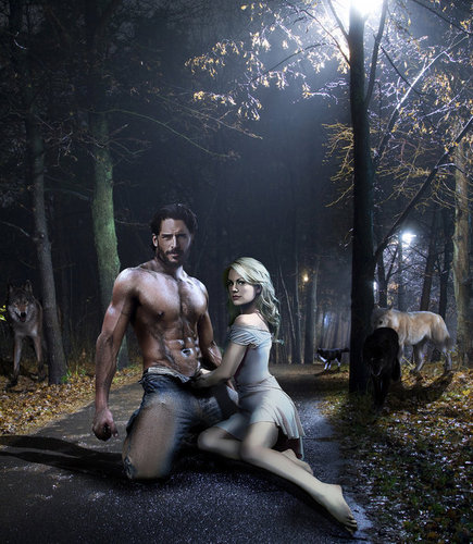 Joe Manganiello wallpaper possibly containing a street and a sign entitled Team Alcide